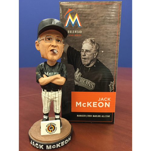 Photo of Marlins Charity Auction: Jack McKeon Bobblehead