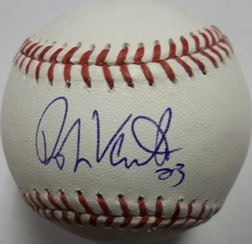 Photo of Robin Ventura Autographed Baseball