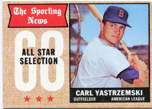 Photo of 1968 Topps #369 Carl Yastrzemski All Star