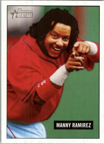 Photo of 2005 Bowman Heritage #307 Manny Ramirez SP