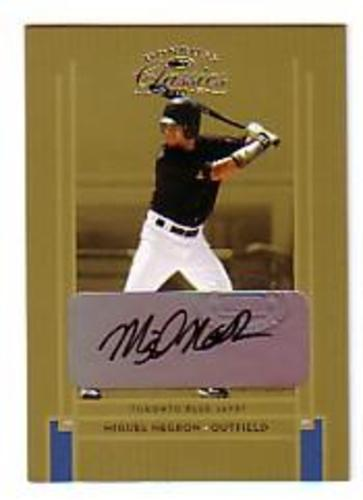 Photo of 2005 Donruss Classics #202 Miguel Negron AU/1300 RC
