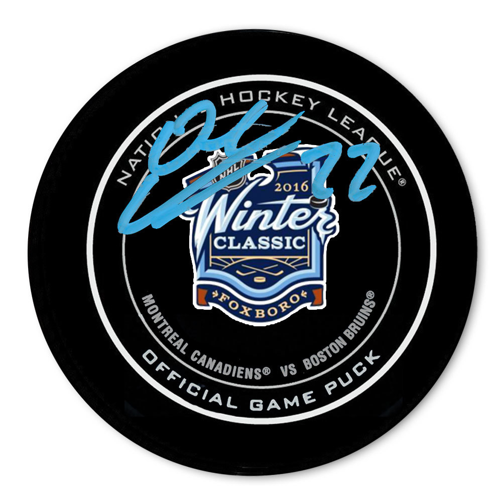 Dale Weise 2016 Winter Classic Dueling Autographed Official Game Puck