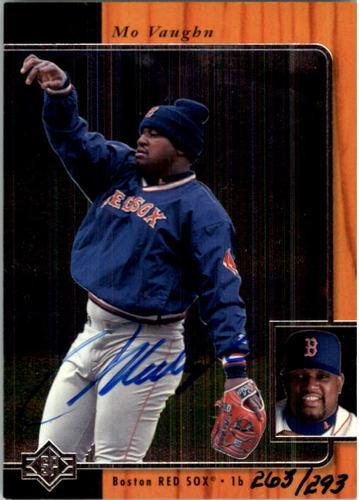 Photo of 1997 SP Vintage Autographs #32 Mo Vaughn 97/293