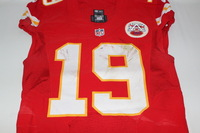 BCA - CHIEFS JEREMY MACLIN GAME WORN AND SIGNED CHIEFS JERSEY (OCTOBER 23 2016)