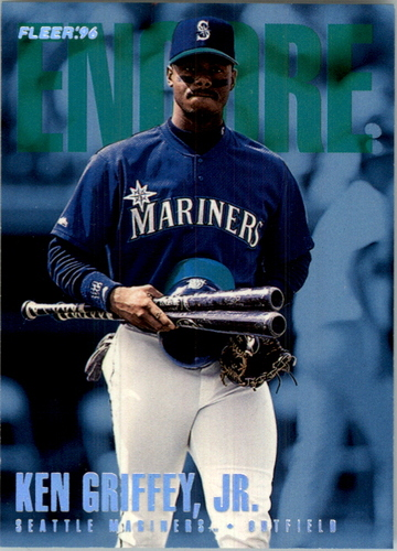 Photo of 1996 Fleer Update Tiffany #U223 Ken Griffey Jr. ENC