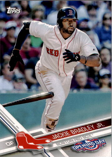 Photo of 2017 Topps Opening Day #114 Jackie Bradley Jr.