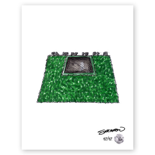 Photo of Petco Park Sketch - Limited Edition Print 42/42 by S. Preston