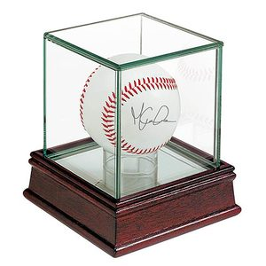 Toronto Blue Jays Wood/Glass Baseball Case by Ultra Pro