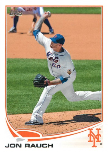 Photo of 2013 Topps #60 Jon Rauch