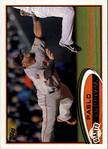 Photo of 2012 Topps #185A Pablo Sandoval