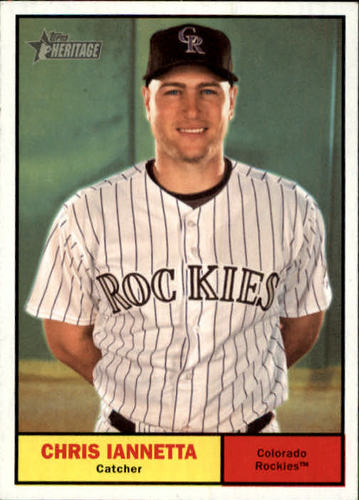 Photo of 2010 Topps Heritage #198 Chris Iannetta