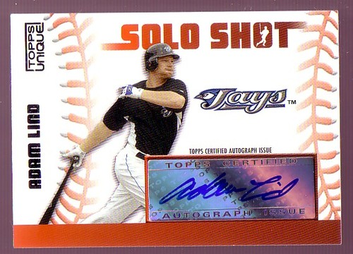 Photo of 2009 Topps Unique Solo Shots Autographs #AL Adam Lind