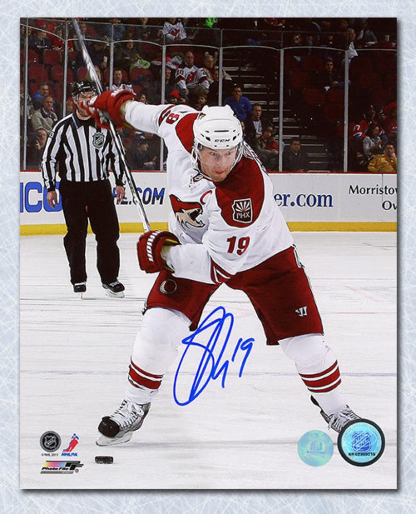 Shane Doan Phoenix Coyotes Autographed Captain 8x10 Photo
