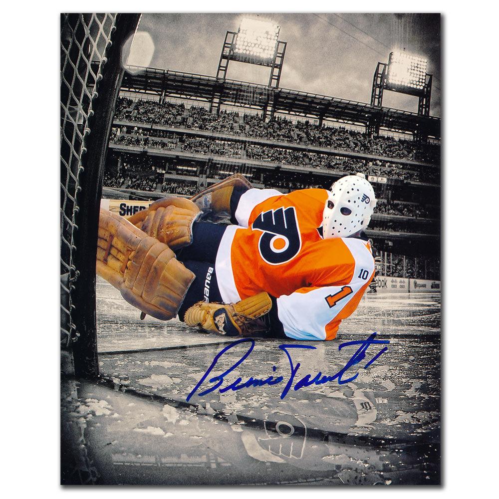 Bernie Parent Philadelphia Flyers Winter Classic Signed 8x10