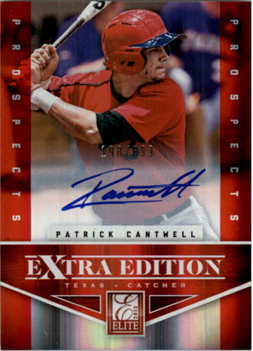 Photo of 2012 Elite Extra Edition #165 Patrick Cantwell AU/699