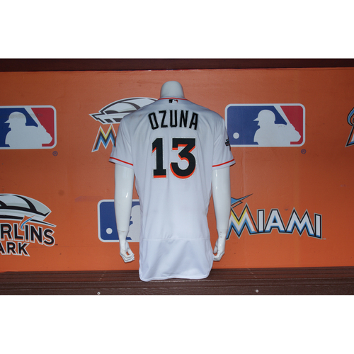 Photo of Marcell Ozuna Home Opener Jersey - 2nd Career Multi HR Game