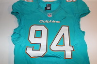 STS - DOLPHINS MARIO WILLIAMS GAME WORN DOLPHINS JERSEY (NOVEMBER 6 2016)