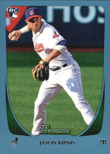 Photo of 2011 Bowman Draft Blue #104 Jason Kipnis  423/499-- Indians post-season