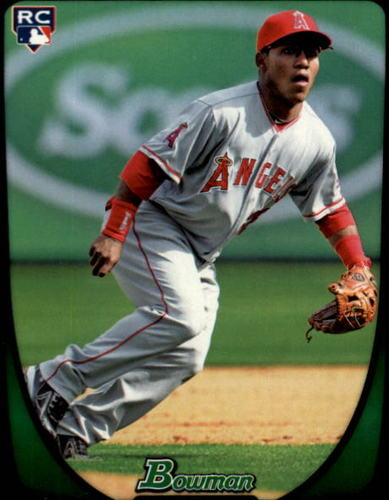 Photo of 2011 Bowman Draft #3 Alexi Amarista Rookie Card -- Rockies post-season