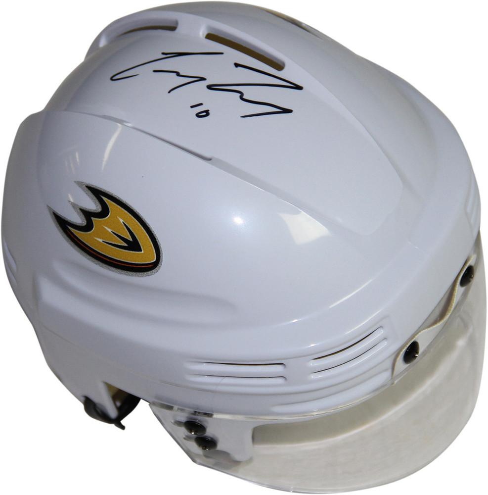 Corey Perry Signed White Anaheim Ducks Logo Mini Helmet