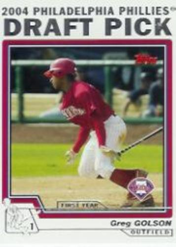 Photo of 2004 Topps Traded #T73 Greg Golson DP RC