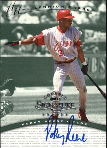 Photo of 1997 Donruss Signature Autographs Millennium #101 Pokey Reese