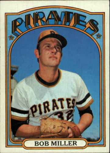 Photo of 1972 Topps #414 Bob Miller