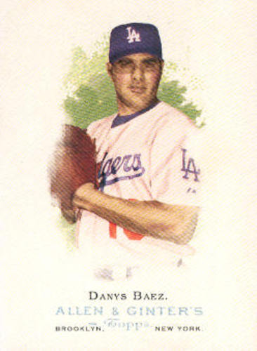 Photo of 2006 Topps Allen and Ginter #121 Danys Baez