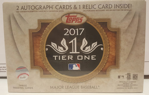Photo of 2017 Topps Tier One Basesball