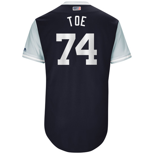 """Photo of Ronald """"Toe"""" Torreyes New York Yankees Game-Used Players Weekend Jersey"""