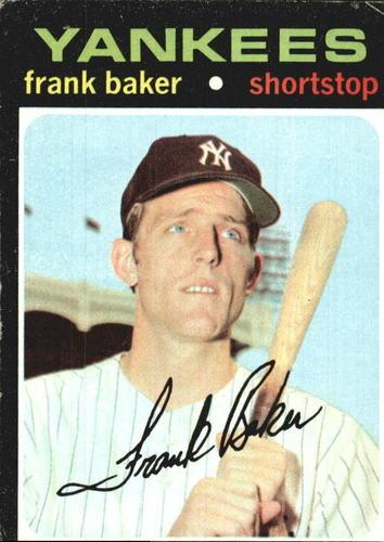 Photo of 1971 Topps #213 Frank Baker RC