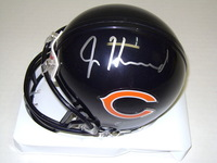 NFL - BEARS JORDAN HOWARD SIGNED BEARS MINI HELMET