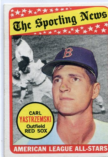 Photo of 1969 Topps #425 Carl Yastrzemski All Star