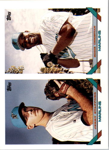 Photo of 1993 Topps #683 Jerry Stafford/Eddie Christian RC