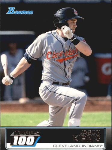 Photo of 2011 Bowman Topps 100 #TP76 Jason Kipnis -- Indians post-season