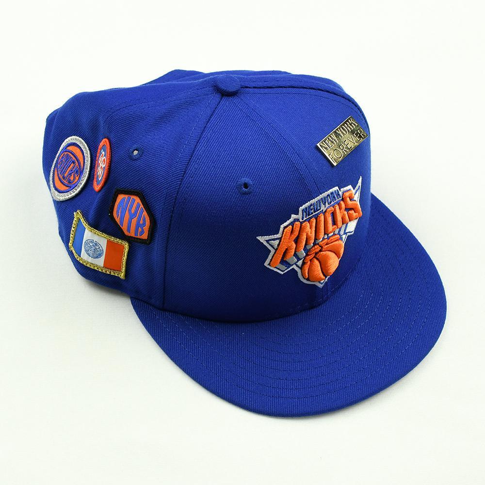 Kevin Knox - New York Knicks - 2018 NBA Draft Class - Draft Night Photo-Shoot Worn Hat