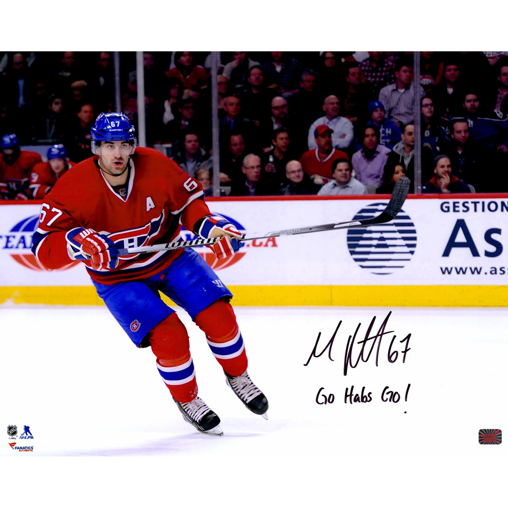 Max Pacioretty Montreal Canadiens Autographed 16