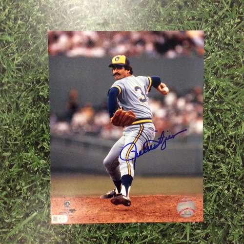 "Photo of Rollie Fingers Autographed 8"" x 10"" Photo"