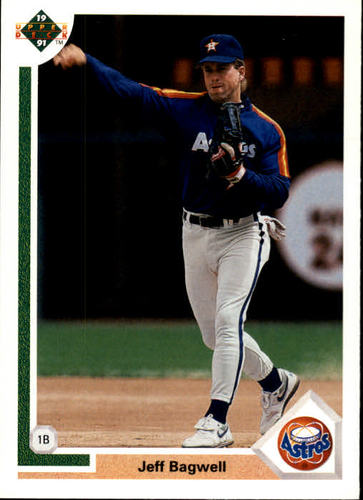 Photo of 1991 Upper Deck #755 Jeff Bagwell Rookie Card