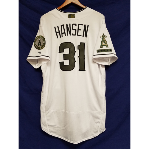 Photo of Dave Hansen 2017 Team-Issued Home Memorial Day Jersey