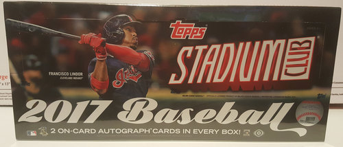 Photo of 2017 Topps Stadium Club Baseball