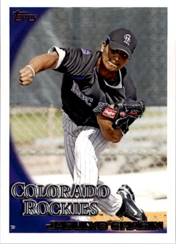 Photo of 2010 Topps #502 Jhoulys Chacin