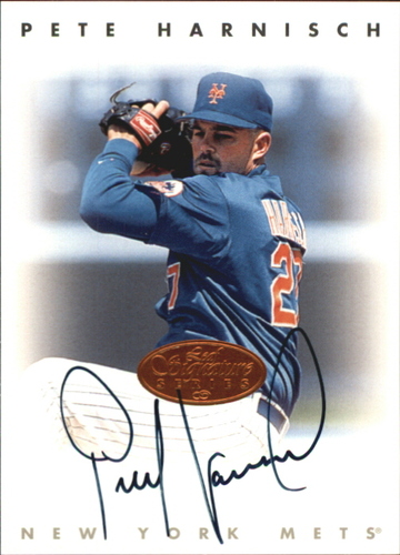 Photo of 1996 Leaf Signature Autographs #96 Pete Harnisch