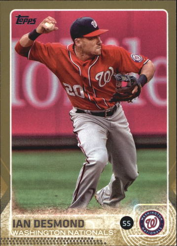 Photo of 2015 Topps Gold #606 Ian Desmond