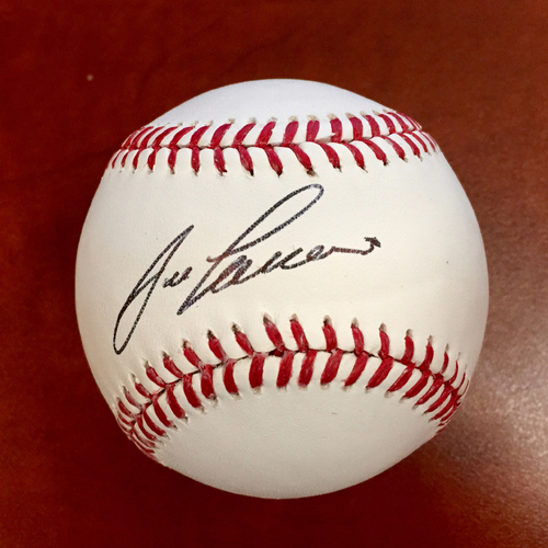 Photo of Jose Canseco Autographed Baseball