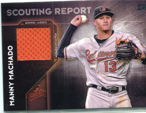 Photo of 2016 Topps Scouting Report Relics #SRRMM Manny Machado S2
