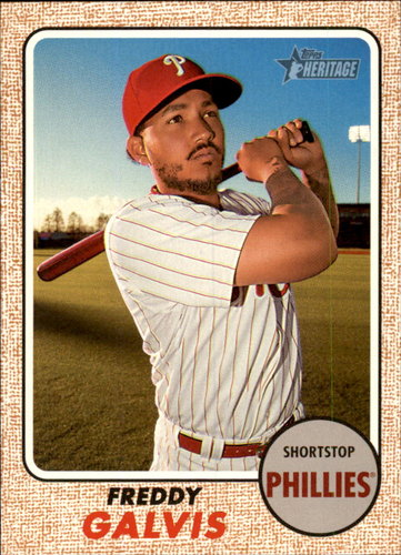 Photo of 2017 Topps Heritage #215 Freddy Galvis
