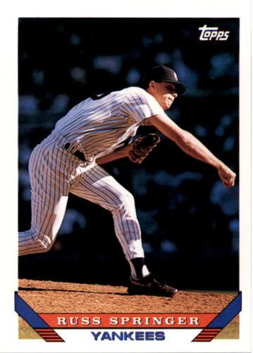 Photo of 1993 Topps #686 Russ Springer