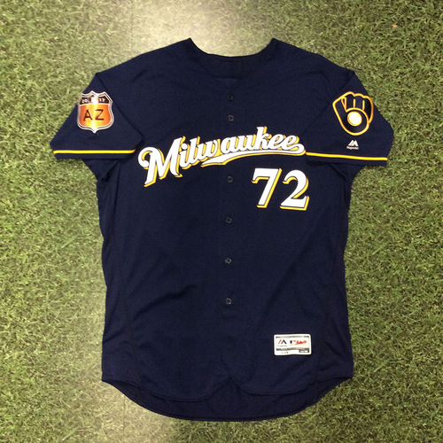 Photo of Andrew Barbosa 2017 Spring Training Jersey