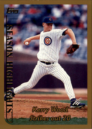 Photo of 1999 Topps #204 Kerry Wood HL